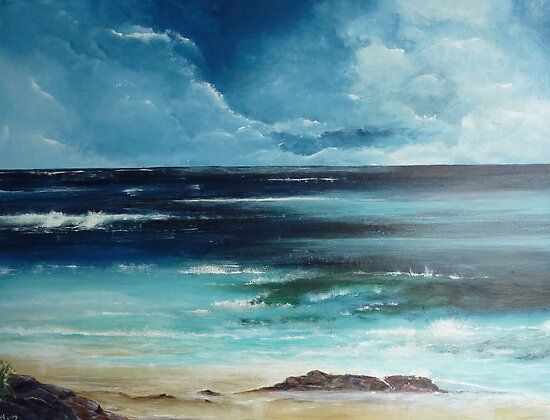Rocky Beach by Shelagh Linton