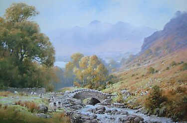 Ashness  Bridge, Cumbria, England by JoeHush