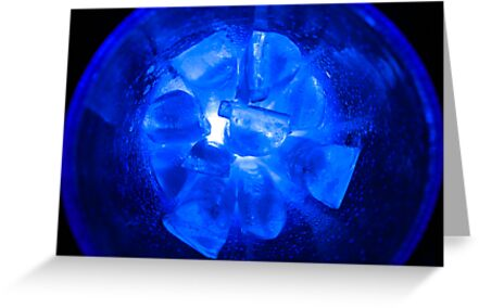 Ice Ice Bubble Glass by Bryan Freeman