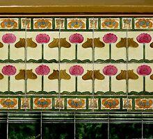 art nouveau ceramics by Christopher Biggs