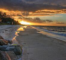 McRae beach, Mornington Peninsula by Michael Tuni