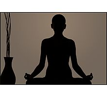 Photography Yoga - Praying Photographic Print