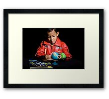 The World is So Small!!!! Framed Print