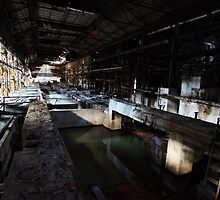 Abandoned Paper Mill-Scotland by Alan Black