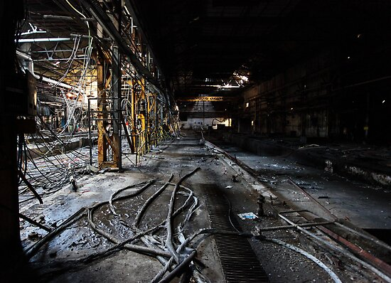 Abandoned Paper Mill, Scotland by Alan Black