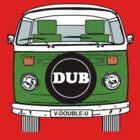 VW Bay Window Green by FunkyDreadman