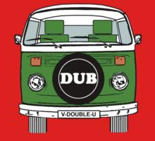 VW Bay Window Green by FunkyDreadman