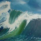 Big Wave 3 by Shelagh Linton