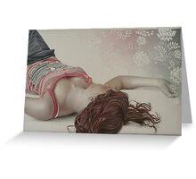 """I sogni son desideri"" , 2009 Greeting Card"