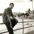 1960 Waikki Beach. (photo) by Woodie