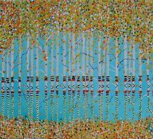 Birch Confetti  SOLD by Deborah Glasgow