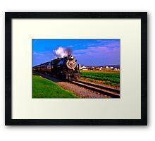 Choo Choo Number 90-Strasburg Railroad Framed Print