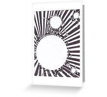 Tortured Sun Greeting Card