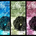 2009 Christmas Card Panel by Vanessa Barklay