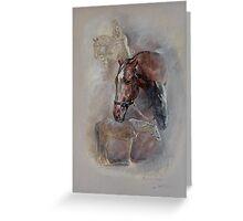Ballistic Symbol - Horse Montage Greeting Card