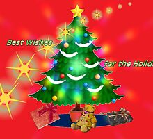 Best Wishes for the Holidays by Vickie Emms