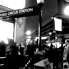 oxford circus by Daniel Weeks