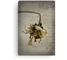 Postcard from the Past ~ No 3 Canvas Print