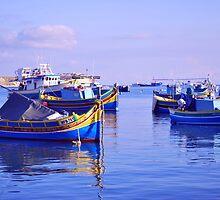 Malta Boats by T-Pot