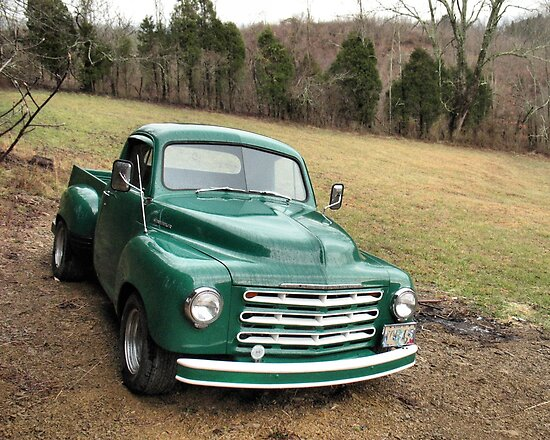 Studebaker Truck: Put Out to Pasture .... 'til the Next Ride by © Bob Hall