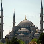 """Yeni Camii or """"New Mosque"""" 17th century Istanbul by Johannes  Huntjens"""