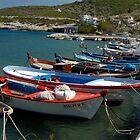 Kaynar Pinar Harbour, Karaburun Peninisula, Turkey by Johannes  Huntjens