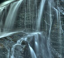 White Owl Falls - Close up by David Allen