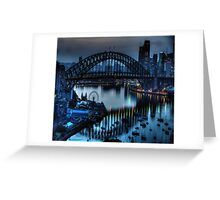 Double Vision - Moods Of A City The HDR Experience Greeting Card