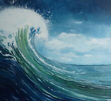 Big Wave 2 by Shelagh Linton