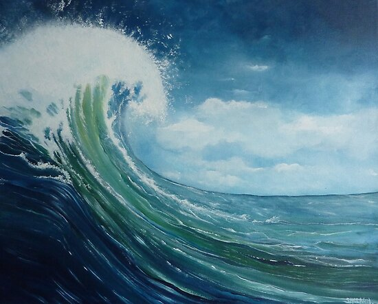 Big Wave 2 by Shelagh Linton
