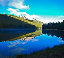 Lower Twin Lake, Beaverhead County, Montana by Bryan D. Spellman