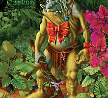 Merry Christmas from Shapeless the Forest Troll by Danny Willis