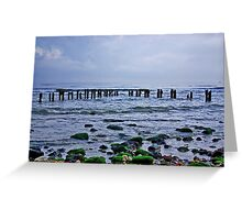 Early Morning - Sandsend Greeting Card
