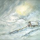 Winter Landscape...The Bothy by © Janis Zroback