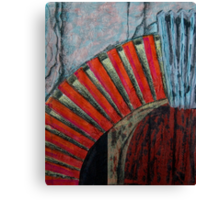 Drain Vent - Collage Canvas Print