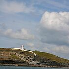Kilcredaun Head Lighthouse by Katrina Morrison