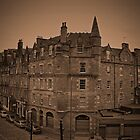 View of Edinburgh. by Finbarr Reilly