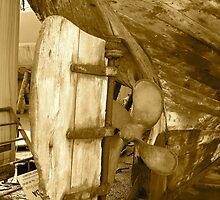 Kilrush Boat Yard by Katrina Morrison