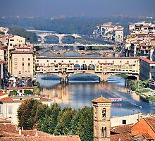 Bridges on Arno by andreisky