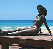 Bronzed Aussie, Currumbin Beach. by SouthernCross