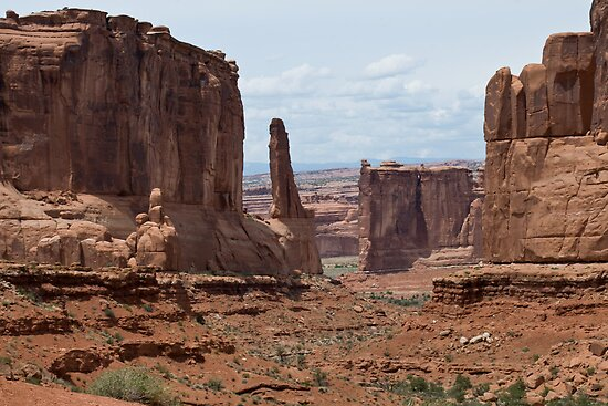Park Avenue II, Arches National Park by TheBlindHog