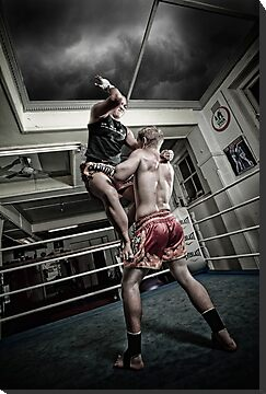 Amm Muay Thai - Elbow by hangingpixels