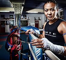 Amm Muay Thai - Ringside by hangingpixels