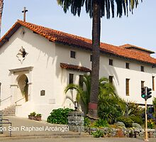 Mission San Raphael Arcángel by William Hackett