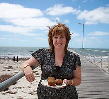 Eyre Peninsula show cooking star Hannah Stringer by lizh