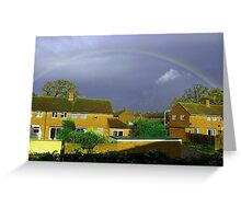 THe storm is coming Greeting Card