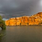 Storms on the River - Panoramic - by Paul Thompson