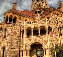 Wise County Courthouse by Terence Russell