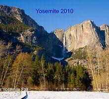 Upper Yosemite Fall by William Hackett