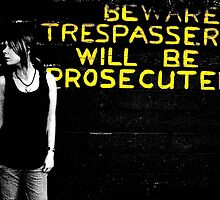 trespassing. by Lauren Marr